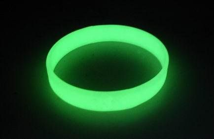 Glow in the dark Silicone Wristbands. http://promocorner.com.au/silicone-wristbands/
