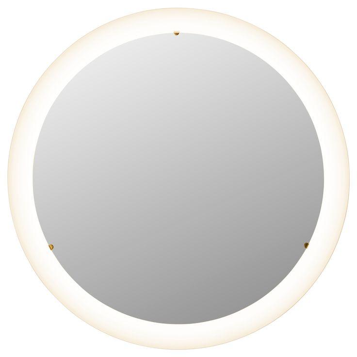 STORJORM Mirror with integrated lighting - IKEA potential light in bathrooms above vanities