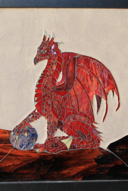 1000 Images About Dragon Mosaics On Pinterest Red