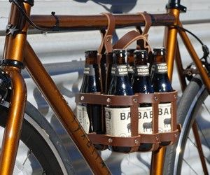 Carry a 6 pack on your bike, handy! $59.99 on Amazon