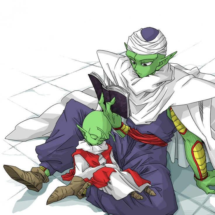 Piccolo And Dende Aww