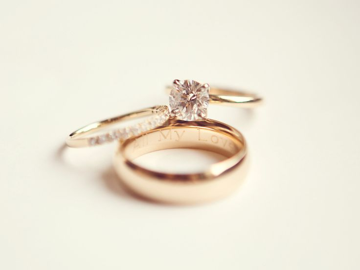 Wedding Ring Engraving Ideas & Tips   Photo by: Sarah Kate Photography   TheKnot.com