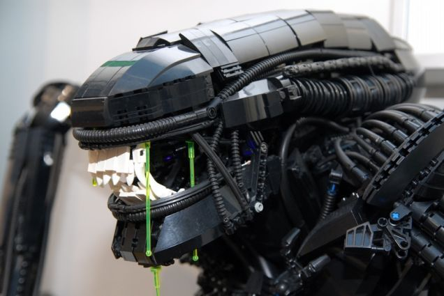 This week the world lost a creative genius, with the passing of H. R. Giger. However, his legacy lives on in his artwork, the Alien franchise (which has some fantastic graphic novel adaptations), and through Lego. Here are a few of the best Giger-inspired Lego aliens.