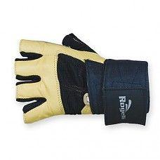 Rogelli Sparti fitness handschoenen - camel/zwart