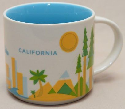 You Are Here – California – Starbucks Mugs