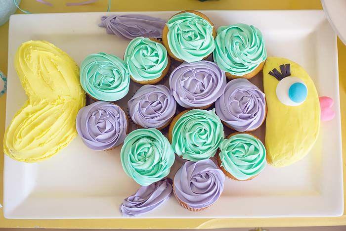 Cupcakes as a fish!