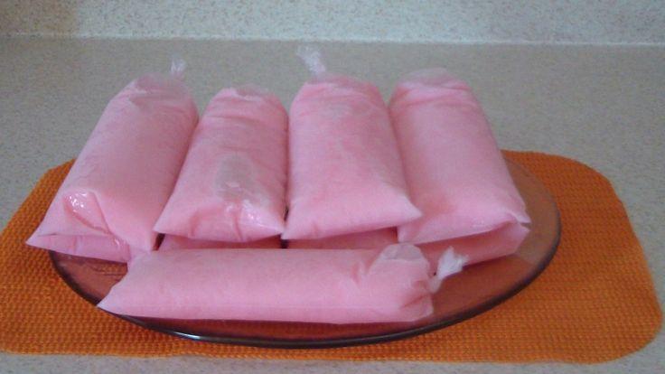 helados de rosas bolis o saborines