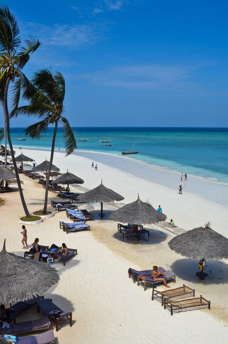 la plage de Zanzibar #Afriquetumemanques