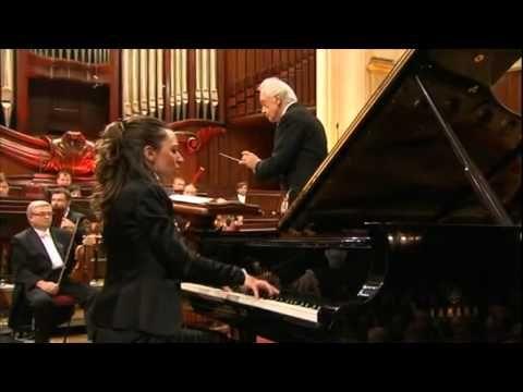 Chopin Competition 2010 - Yulianna Avdeeva - Piano Concerto no1 in e min...