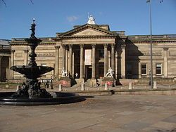 Walker art gallery, Liverpool. Fond memories of visiting with my dad.