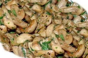 Funghi+champignon+trifolati+con+il+Bimby+-+Il+Piacere+Del+Gusto