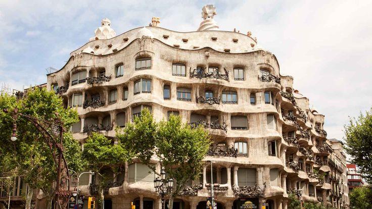 Casa Milla Gaudi 1906-10