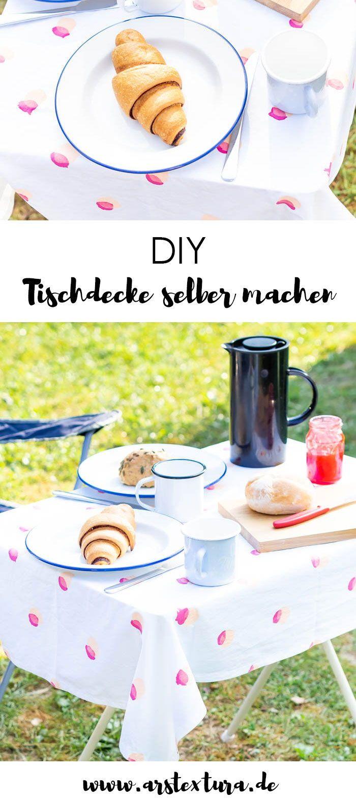 Tischdecke Selber Machen Nahen Sewing Pinterest Diy Und Diy Food