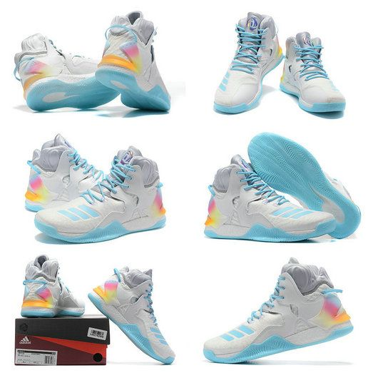 bf1db44cd19 Free Shipping Only 69$ Adidas D Rose 7 VII Christmas Iridescent ...