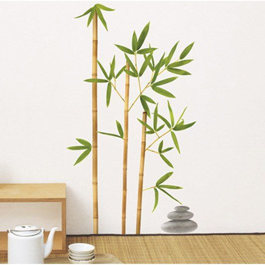 Sticker Bambou aurea, 50 x 70 cm
