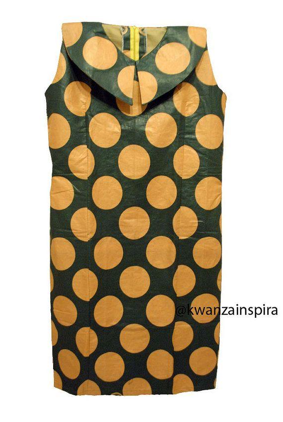 African semplice abbigliamento africano di KwanzaInspiration