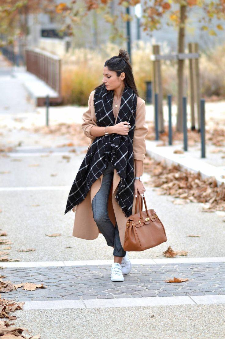 JUNESIXTYFIVE - Oversize Coat, manteau camel Plus