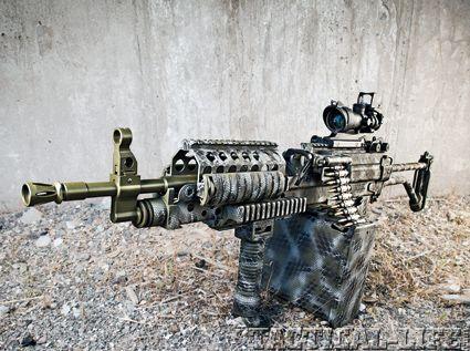 MACHINE GUN ARMORY MK46 SAW 5.56mm