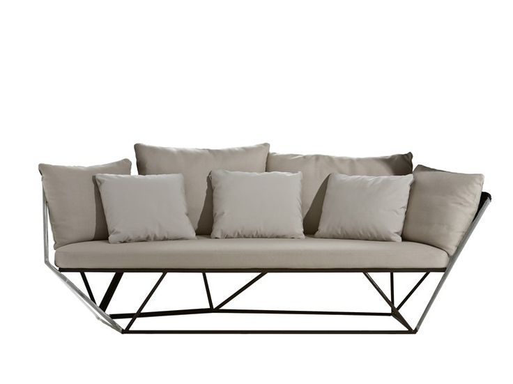 3 seater sofa KHAIMA Khaima Collection by Driade design Patrick Norguet