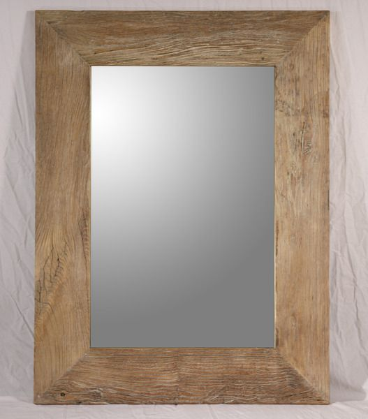 Timber frame mirror from Scurr's on Beaufort Street | For