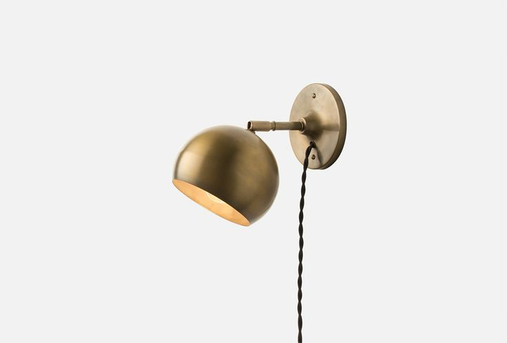 Vanity Lights That Can Be Plugged In : 1000+ ideas about Plug In Wall Sconce on Pinterest Wall Lighting, Swing Arm Lamps and Lamps