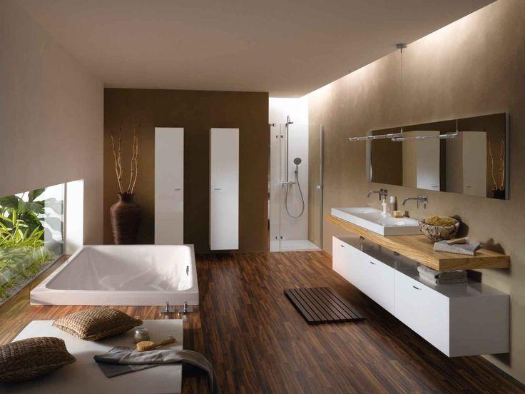 Freistehende Dusche Spritzwasser : bathroomdesign modern freistehende badewanne bette art freistehende
