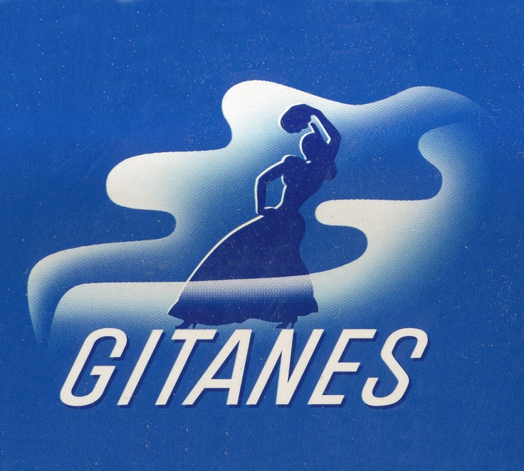 Gitanes logo by Max Ponty, 1947