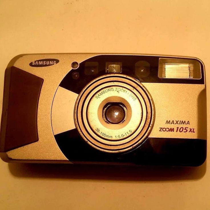 Samsung Zoom Camera 105xl 38 Super Macro Maxims Lens  flash Fuzzy Logic 105 mm   #Samsung