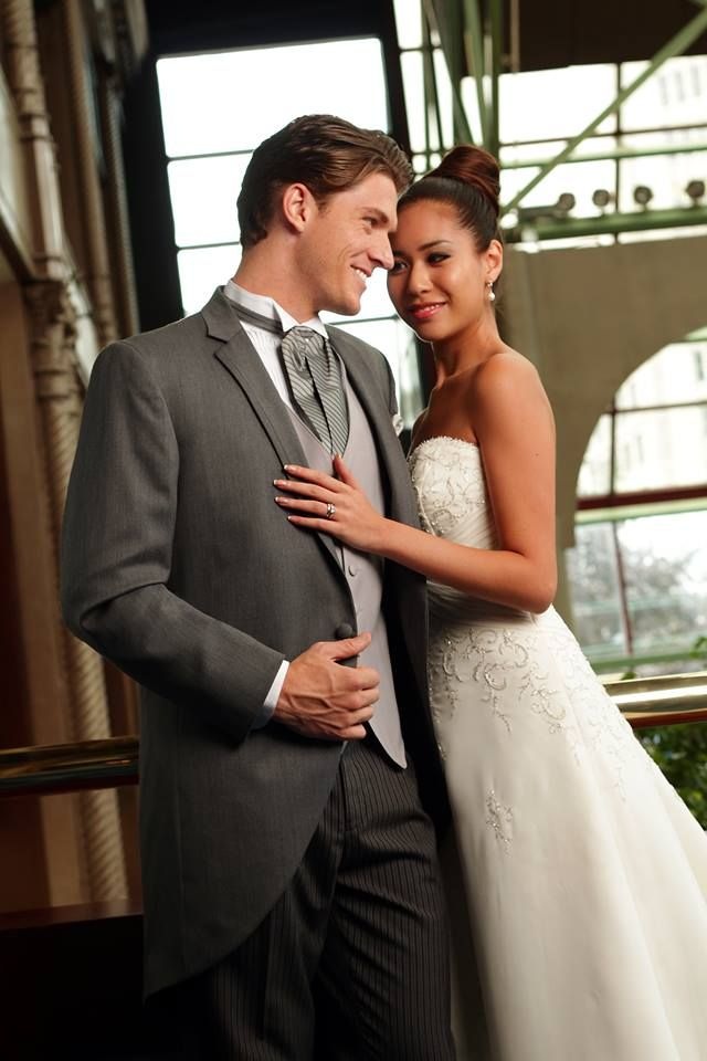 For a formal or black tie wedding, you will want to opt for a tuxedo! From black to grays, you can choose yours to complement your wedding colors, and even add some vibrancy with a colorful vest.  #vest #tuxedo #wedding #weddingsuit #weddingtux #tuxedojunction #weddingrental