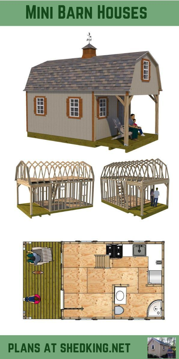 12x22 Barn Shed Plans 12x22 Barn Plans Shed Barn House Plans Shed Homes Small Shed Plans
