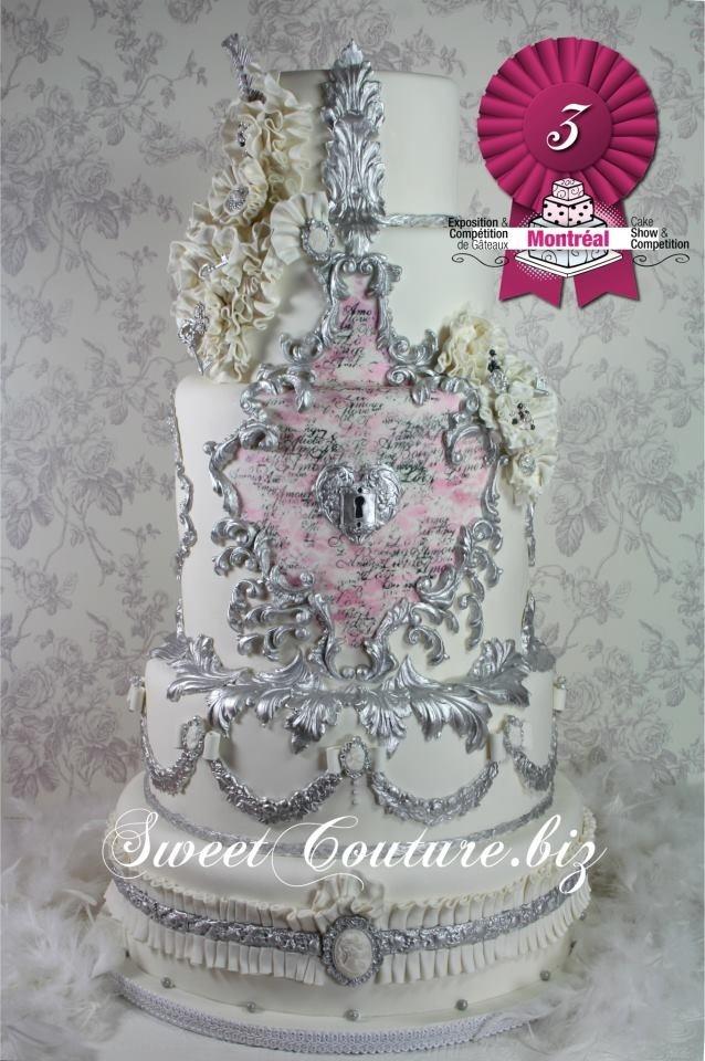 Victorien - gâteau de mariage