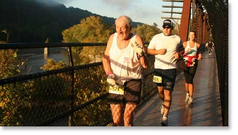 Home of Freedom's Run Marathon Sponsored by WVU Hospitals-East and Health Sciences Center-Eastern Division in October