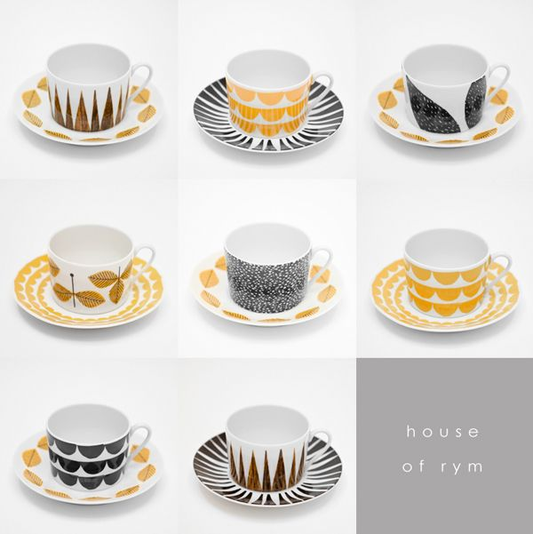 house of rym via the red thread diy dinnerware pinterest inspiration house and design. Black Bedroom Furniture Sets. Home Design Ideas