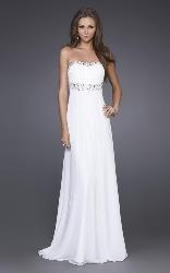 Love the sparkles: Sweet, White Dress, Prom Dress