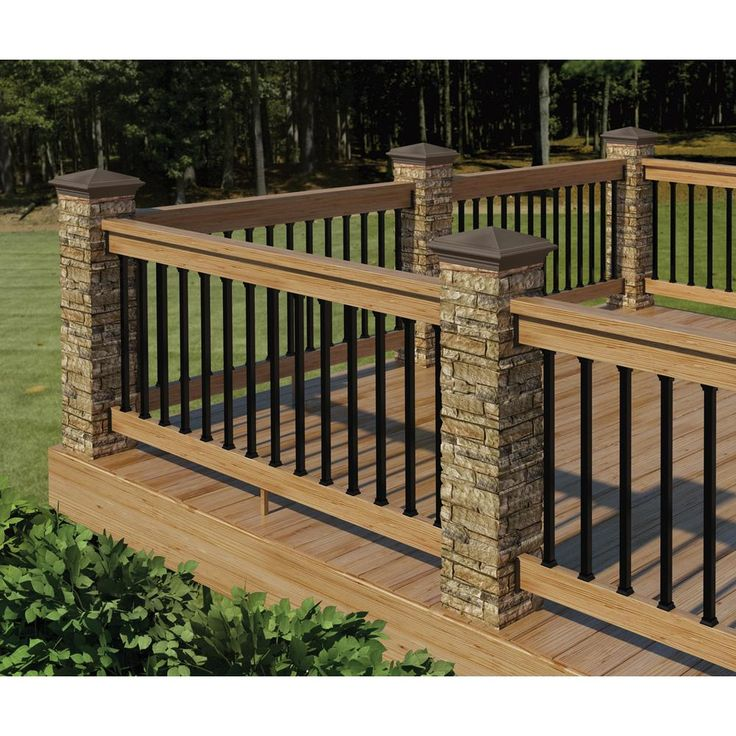 Deck Designs Home Depot: 12 In. X 12 In. X 8 In. Gray Cast Stone Woodland Square