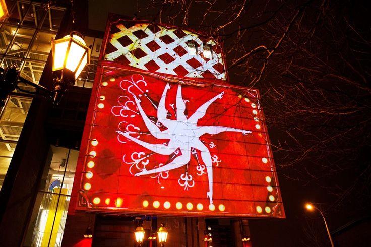 v2com newswire | Urban Design | Luminothérapie: interactive and digital public art illuminate winter in Montreal's Quartier des Spectacles - Bureau du design - Ville de Montréal  @Cindy Boyce