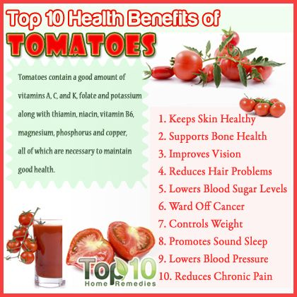 Health Benefits of Tomatoes | Here are the top 10 health benefits of tomatoes.