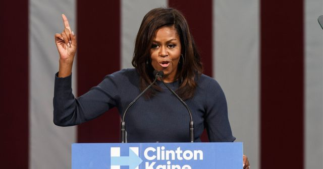 Michelle Obama gave a speech about treating women with respect and here's why that's important