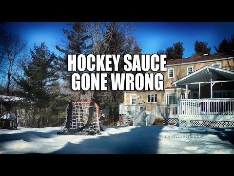 He knew he fucked up sauce kit hockey saucer pass gone wrong 3