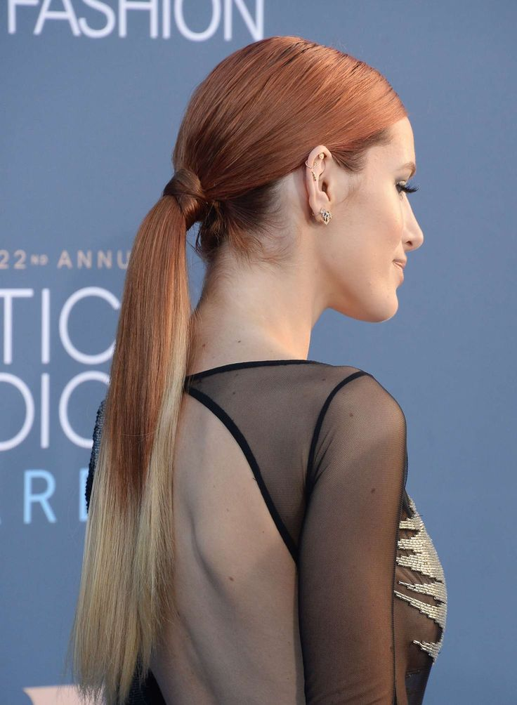 Bella Thorne In Steven Khalil Gown At 22nd Annual Critics Choice Awards
