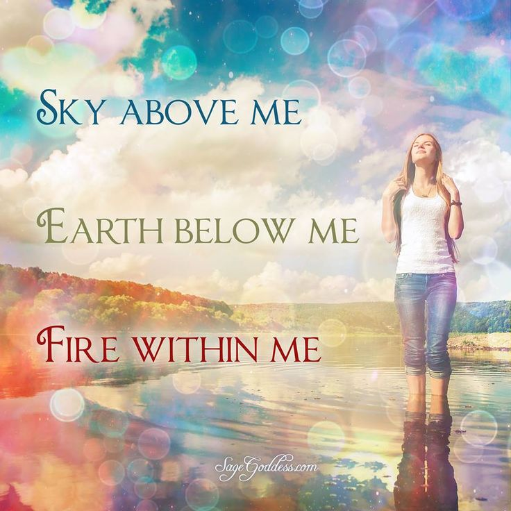 Sky Above Me Earth Below Fire Within