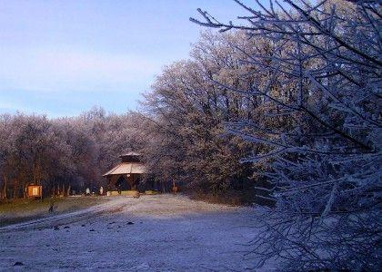 winter – Pécs,  Baranya County , Hungary