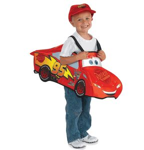 disney cars lightening mcqueen child halloween costume