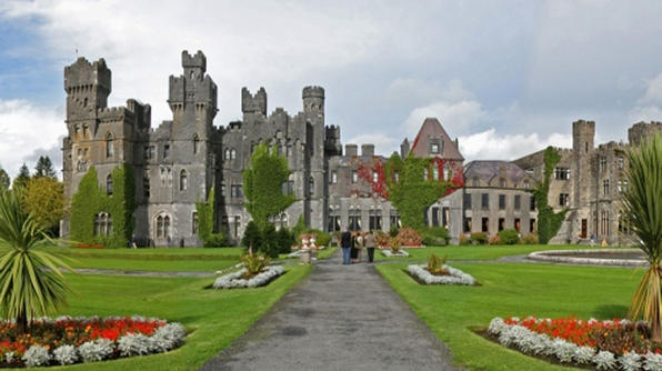 Ashford Castle This castle has an extensive history dating back to the 12th century. Today it is a luxury hotel that hosts weddings and conferences, has a spa and has activities including golf, fishing and clay shooting.
