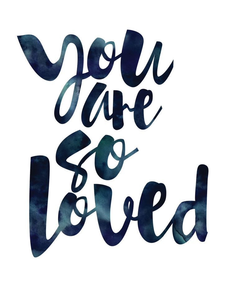 You are so loved. Perfect for a nursery or to let a beloved friend know how much she is valued. Created with shiny reflective gold foil on a satin-finish white cardstock. Click here to purchase the go