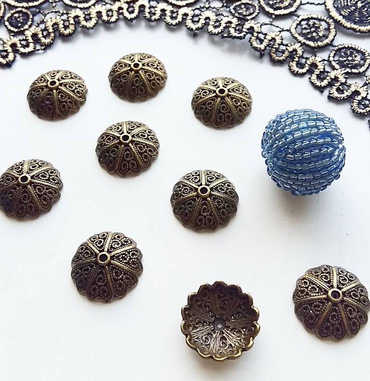 Funky bead caps soon to be listed in my new shop featuring boho craft and sewing supplies #BohoHaberdashery @etsyuk  #bohemianjewelry #bohostyle #ethnicjewellery #beads #beadcaps #jewelrydesign #jewelrysupplies #craftsuppliesuk #craftsupplies #beadoholic #bohojewellery #jewellery