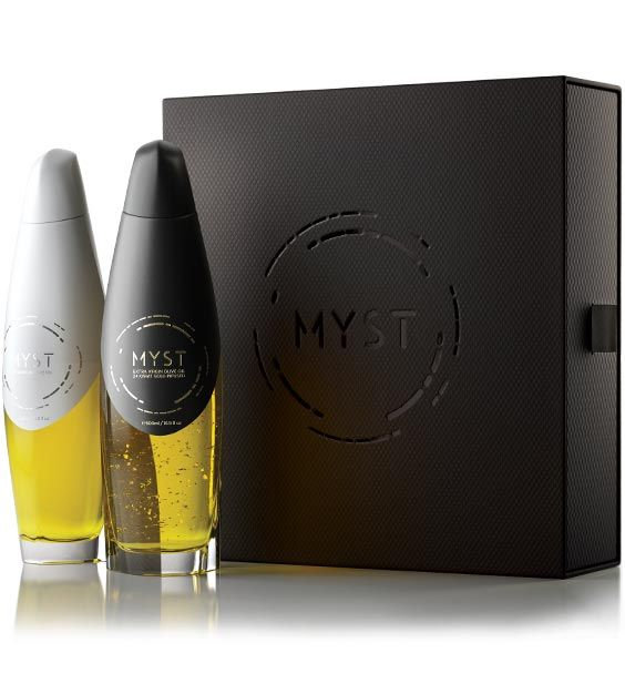 Our luxury bundle case contains both editions of MYST® extra virgin olive oils. A lot of time and thought has been put in designing and manufacturing the case with the primary goal being to create an exquisite packaging, one that would meet the standards of its precious content.