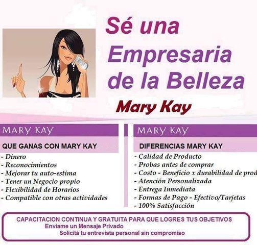 Empresaria de la Belleza Mary Kay