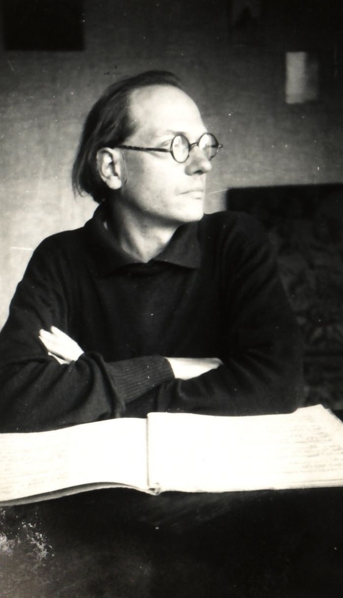 Olivier Messiaen: one of my musical heroes. And such stylish glasses!