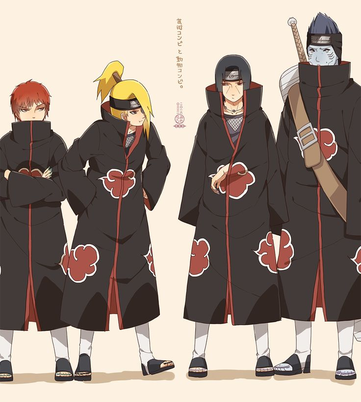 538 Best Akatsuki Images On Pinterest